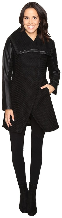 Betsey Johnson Betsey Johnson Minimalist Coat