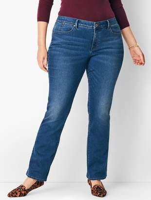 077a0d2abf9 Talbots Plus Size High-Waist Barely Boot Jeans - Nestor Wash
