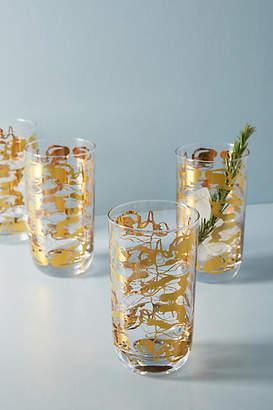 Anthropologie Dorota Highball Glasses, Set of 4