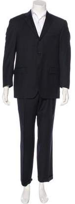 Burberry Wool Pinstripe Two-Piece Suit
