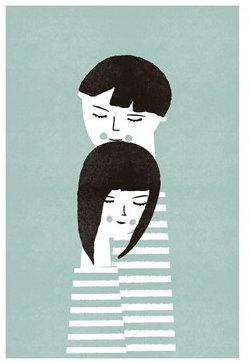 Blanca Gomez The Couple Print