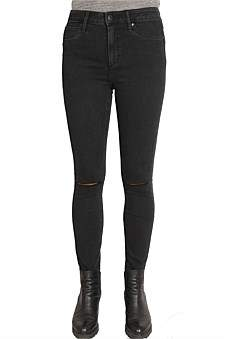 Articles of Society High Cisco Super Skinny Jean With Knee Slit