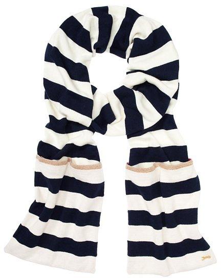 Juicy Couture Stripe It Reversible Stripe Scarf