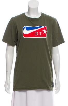 Nike Riccardo Tisci x Short Sleeve Crew Neck T-Shirt
