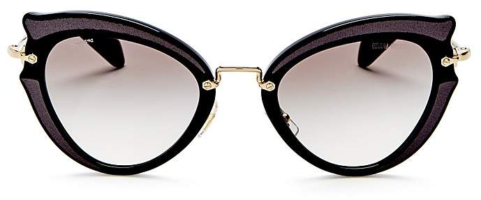 Miu MiuMiu Miu Cat Eye Sunglasses, 42mm