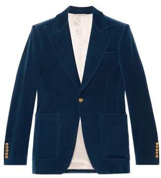 Velvet formal jacket