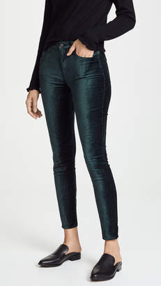 7 For All Mankind The Velvet Ankle Skinny Pants