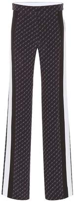 Stella McCartney High-rise wide-leg silk pants