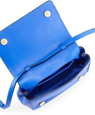Moschino Studded Leather Shoulder Bag