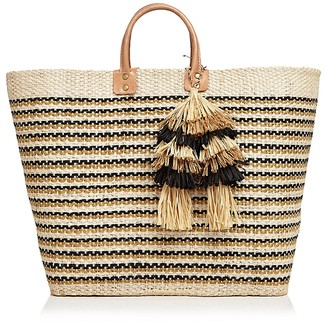 mar Y sol Martinique Straw Tote $139 thestylecure.com