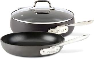All-Clad HA1 Hard Anodized 3-Piece Saute Pan Set