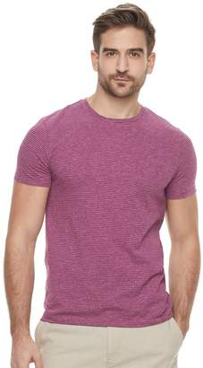 Marc Anthony Men's Slim-Fit Striped Stretch Crewneck Tee