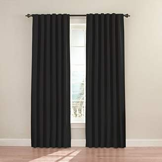 Eclipse Curtains Eclipse 11353052X084BK Fresno 52-Inch by 84-Inch Blackout Single Window Curtain Panel