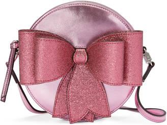 Children's metallic bow messenger $810 thestylecure.com