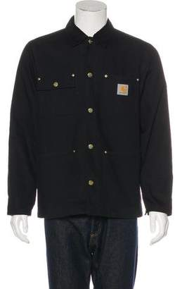 Carhartt Work in Progress Corduroy-Trimmed Chore Coat