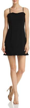 French Connection Whisper Ruth Ruffled Mini Dress