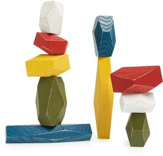 Areaware Set of 10 Balancing Blocks