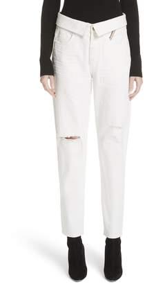 Atelier Jean Flip Straight Leg Jeans
