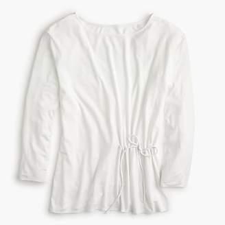 J.Crew Tie-waist T-shirt