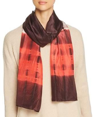 Eileen Fisher Color-Block Silk Scarf