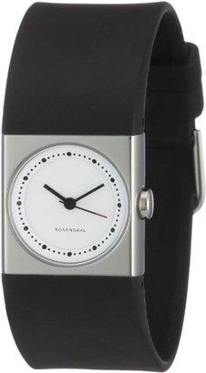 Rosendahl (ローゼンダール) - Rosendahl - 43261 - Montre Femme - Quartz - Analogique - Bracelet Caoutchouc noir