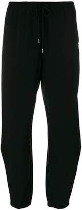 Sportmax slouched track trousers