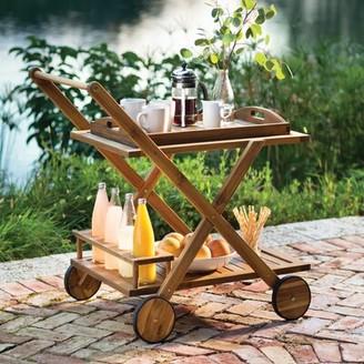 Beachcrest Home Pinecrest Bar Serving Cart