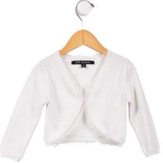 Lili Gaufrette Girls' Long Sleeve Knit Cardigan