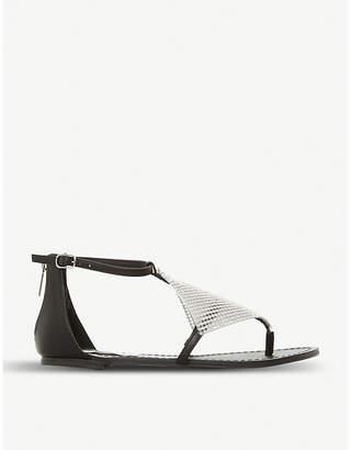 Steve Madden Cord diamante Grecian sandals