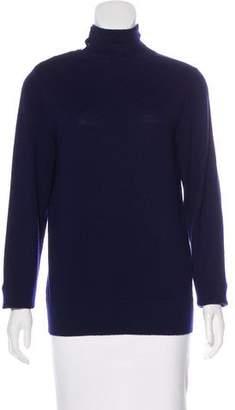 Rena Lange Wool Mock Neck Sweater
