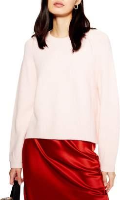 Topshop Modern Crewneck Sweater