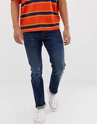 Levi's 511 slim fit low rise jeans rain shower dark wash blue