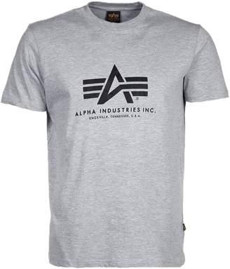 Alpha Industries Men's Alpha Logo T