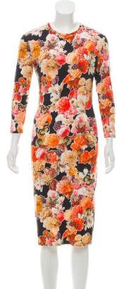 Givenchy Printed Midi Dress