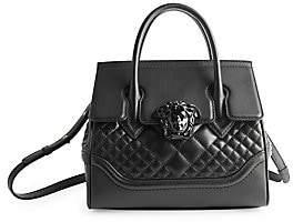 Versace Women's Quilted Palazzo Empire Top Handle Bag