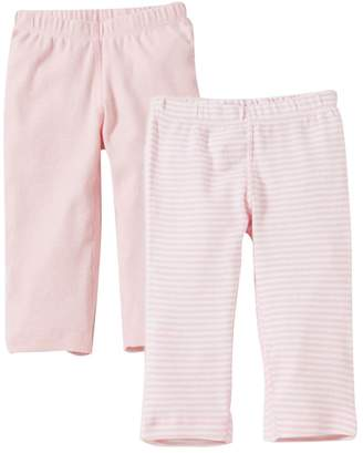 Burt's Bees Bee Essentials Organic Baby Footless Pants Set of 2