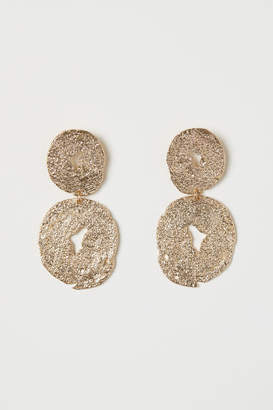 H&M Large Earrings - Gold