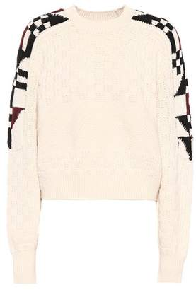Isabel Marant Laytonn cotton and wool sweater