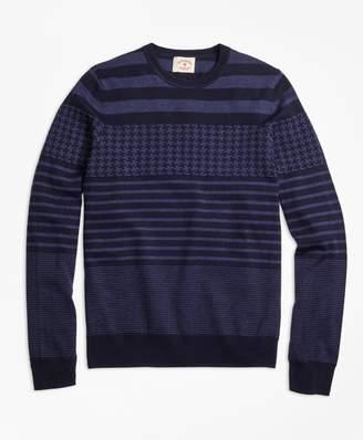 Brooks Brothers Merino Wool Fun Crewneck Sweater