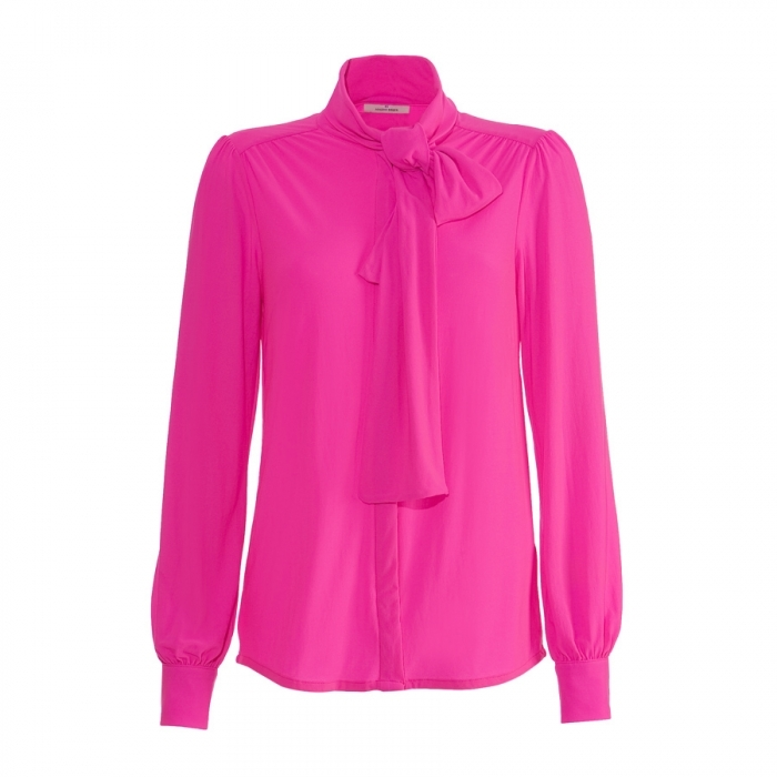By Malene Birger Pink Electric Top
