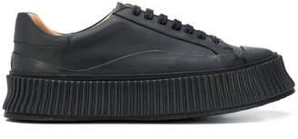 Jil Sander laced 45mm platform sneaker