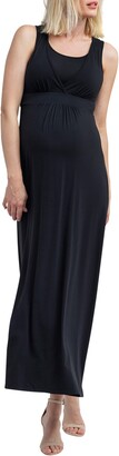 Nom Maternity Hollis Maternity/Nursing Maxi Dress