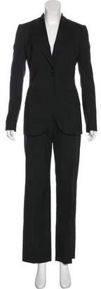 Dolce & Gabbana Wool Pinstriped Pantsuit