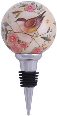 Precious Moments Ne'Qwa Art Hand-Painted Blown Glass Love Is In All Things Wine Stopper