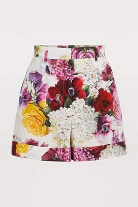 Dolce & Gabbana Hortensia shorts