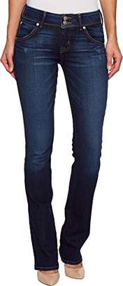 Hudson Women's Collin Midrise Skinny Flap Pocket Jean
