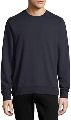 Vince Men's Side Zip Crew Shirt