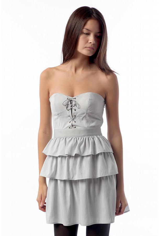 Kimchi Blue Bianca Stripe Dress
