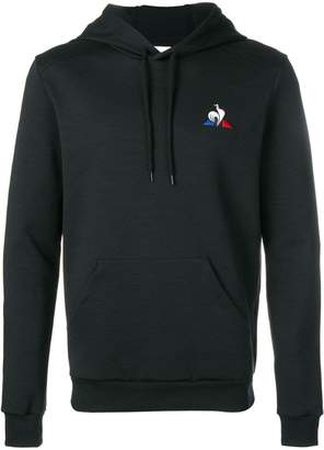 Le Coq Sportif logo printed hoodie