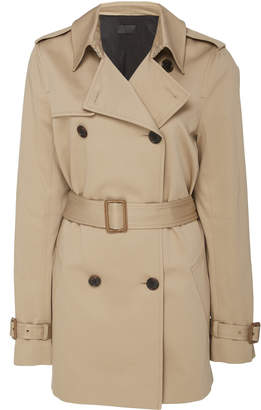 Nili Lotan Willow Belted Cotton Trench Coat